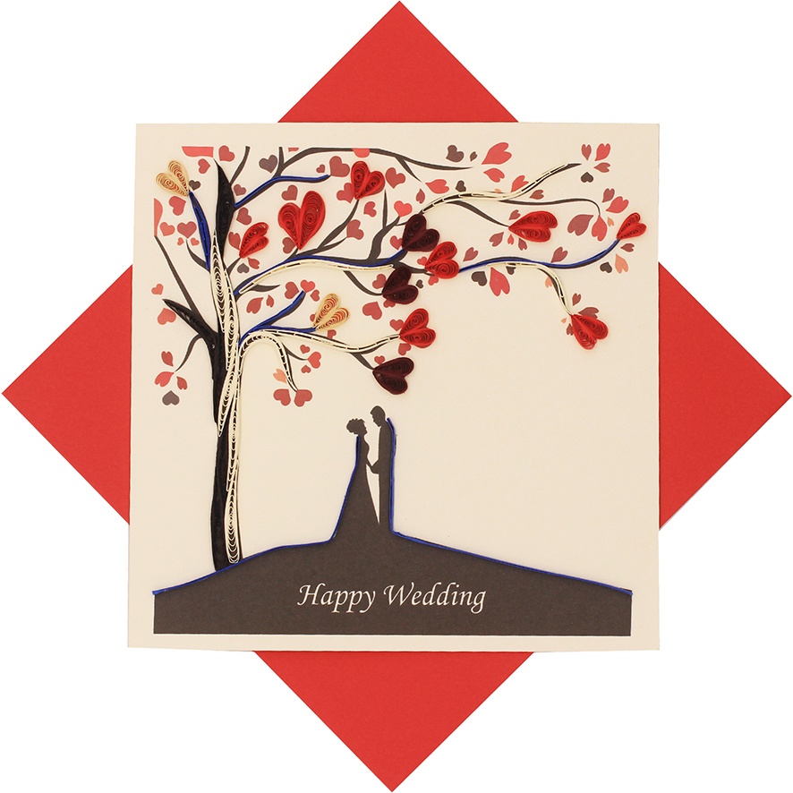 Quilled Love & Wedding Cards