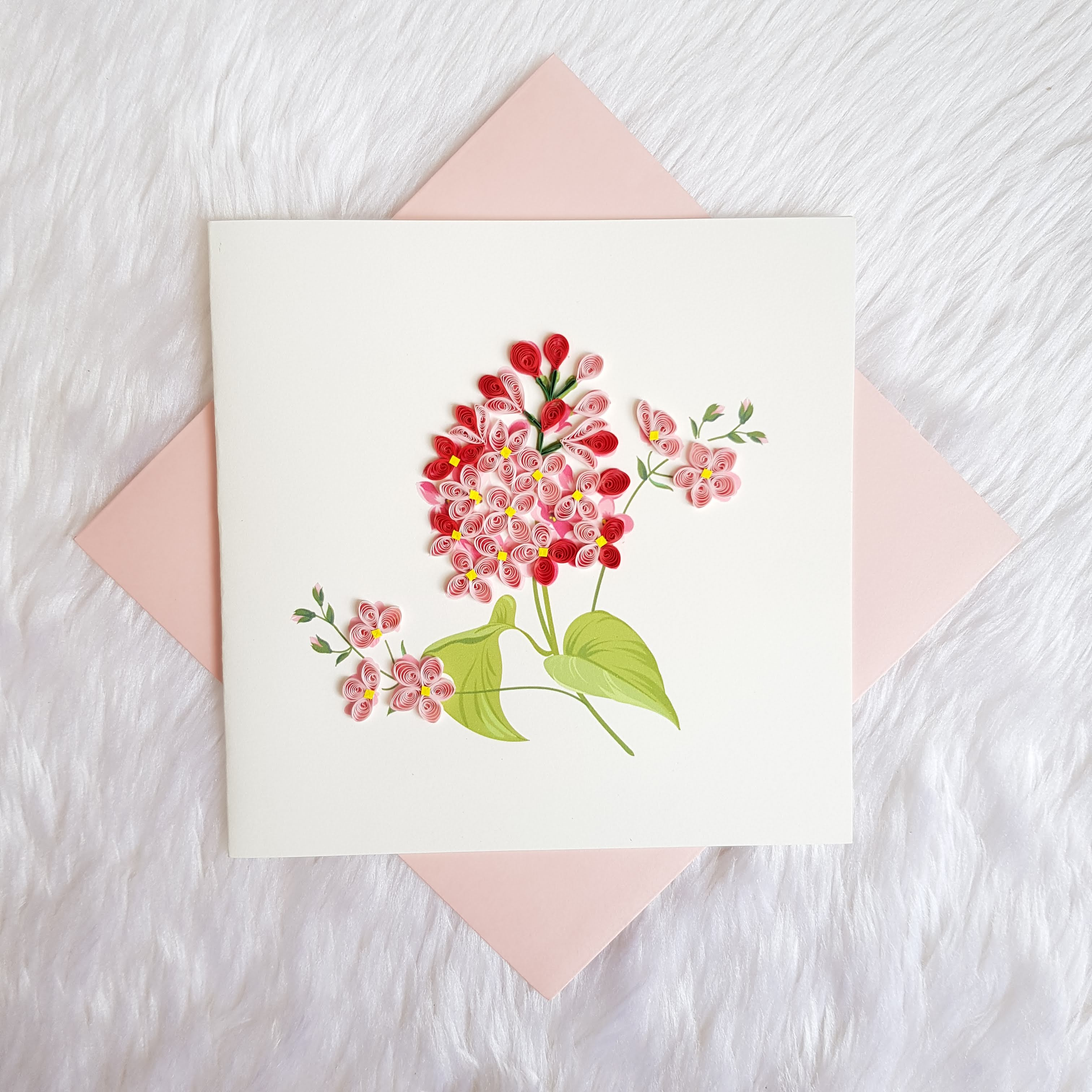 Quilling Flower Cards Vietnam Wholesale Quilling Cards