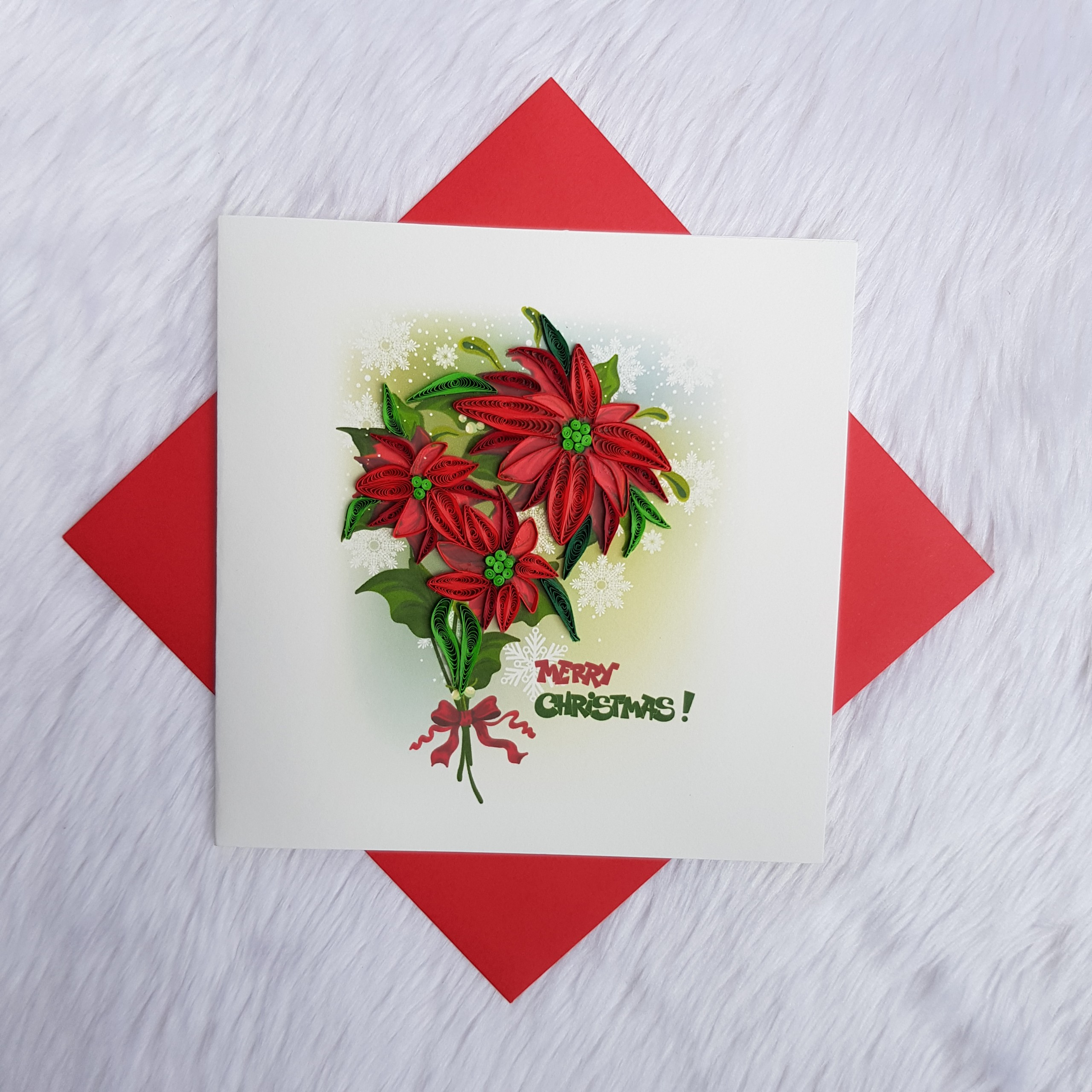 Quilling Christmas Card 03